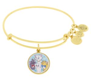 Gold Aristocats Alex and Ani Bracelet