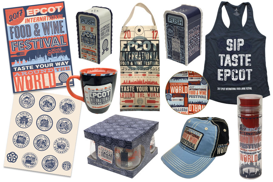 2017 Epcot Food & Wine Festival Merchandise